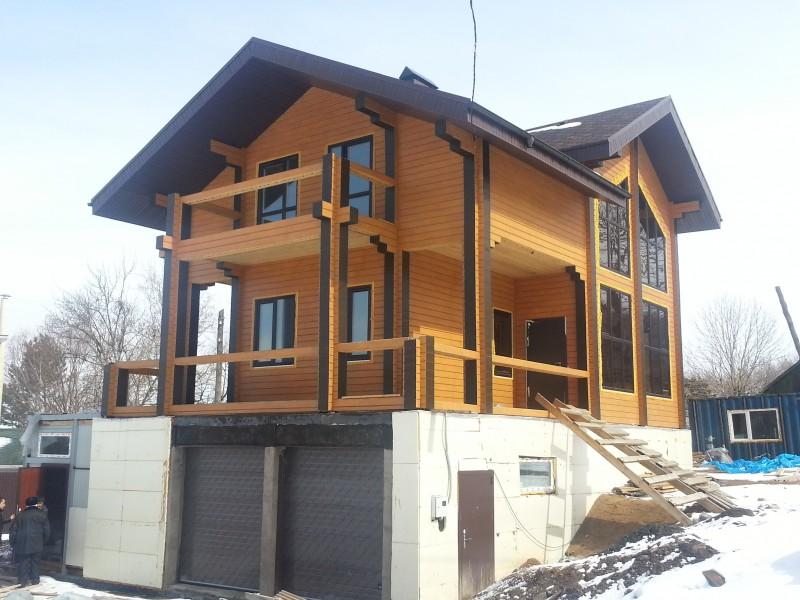 Проект: Строительство домов из
